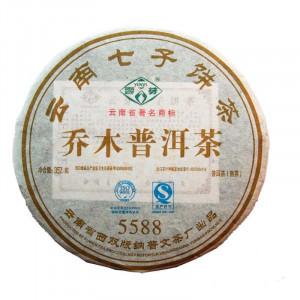 Шу пуэр Пу Вень 5588, 2015 год, 100г