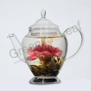 Цветущий зеленый художественный чай, 12 видов, вакуум