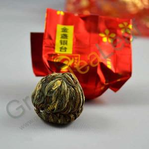 Цветущий художественный чай, вакуумная упаковка, 10 шт, банка, подарочный набор