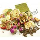 Фруктово-цветочная чайная смесь для похудения, порция на чайник
