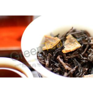 Шу Пуэр Юй Сян 8685, оранжевый в мандарине, 1 шт