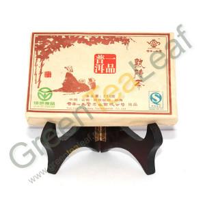 Шу Пуэр Шенг Ши Юпин, прессованный кирпич, первый сорт, Мэнхай, Юньнань, 2006г, 250г