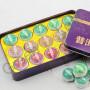 Набор мини пуэров ЮпинТанг, три сорта, 15 штук, подарочная упаковка