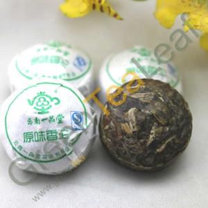 Шен пуэр мини оригинальный вкус, ЮпинТанг, 2012 год, 1шт.