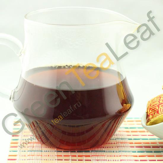 чай шу пуэр кирпич
