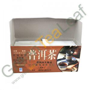 Классический китайский чай шу пуэр для похудения в пакетиках, 24 шт в упаковке