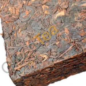 Шу пуэр Чжун ча, брикет, 250г, 2013 год