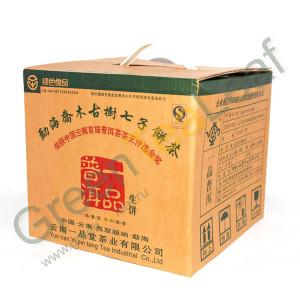 Шен Пуэр Юпинпуэр (Золотая Медаль на Чайной выставке в Юньнань), 2007г, 357г