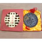 Шен Пуэр пресованный Символ Долголетия, подарочный набор, 2012 год, Юньнань, 480г