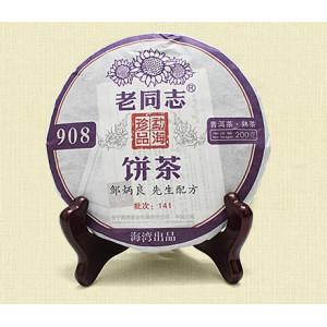Шу Пуэр 908, 2014 год, Хайвань, Юньнань, 200г