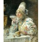 История и пути появления чая в России
