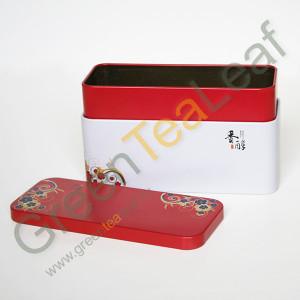 Банка для китайского чая металлическая, средняя