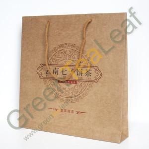 Бумажный пакет специальный для чая пуэр