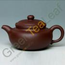 Чайник из фиолетовой исинской глины, ручная работа, 220 мл