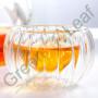 """Китайская чаша для чаепития """"Тыква"""" из двойного стекла"""