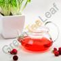 Чайник для цветущего чая, жаропрочное стекло, 550мл
