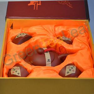 Керамический чайный набор из 5 приборов в подарочной упаковке