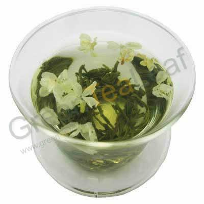 Популярный во всем мире чай с цветами жасмина