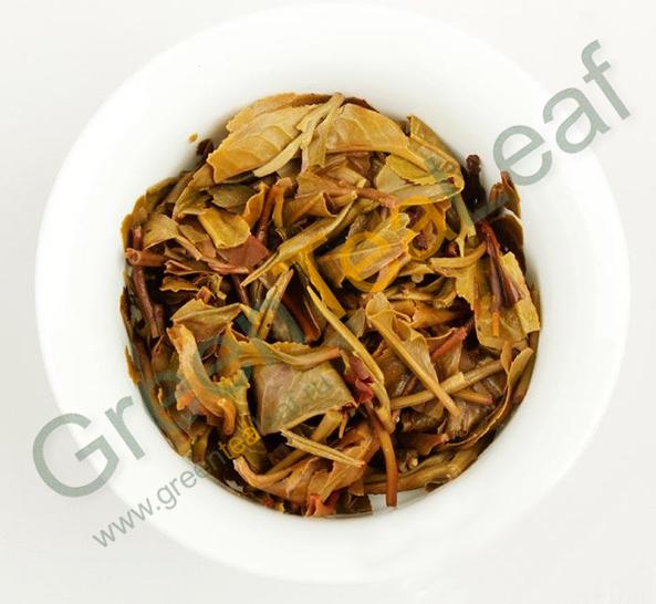 Коллекционный пуэр гушу из особого чайного сырья