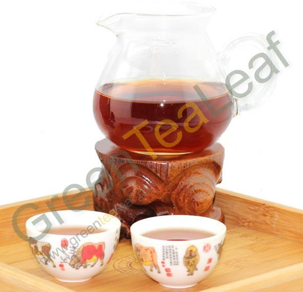 Китайский чай шу пуэр - темный, насыщенный чай