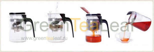 Как заваривать китайский чай пуэр в типоде