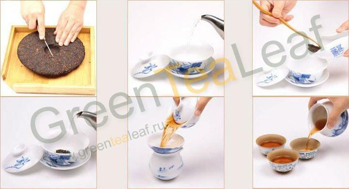 Как заваривать китайский чай пуэр