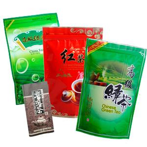 Китайский чай расфасован и упакован в Китае