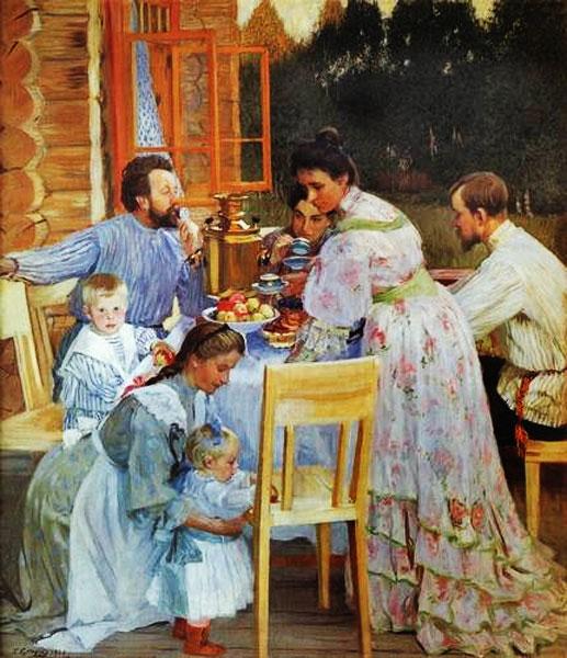 Чайная культура на Руси