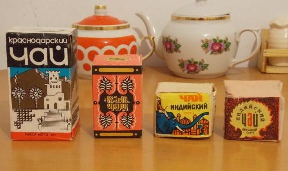 Советский чай, чай со слоном